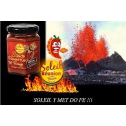 Sauce piment rouge spécial bouchon 180gr