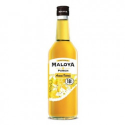 PUNCH ANANAS VANILLE ISAUTIER 70CL 18°