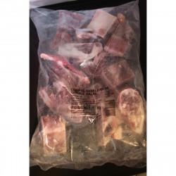 Viande Cabris avec os 1kg
