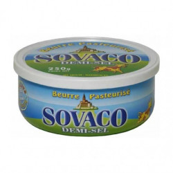Beurre SOVACO past demi sel 250gr