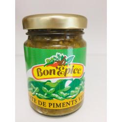 Pâte de piments verts Bon'Epice 100g