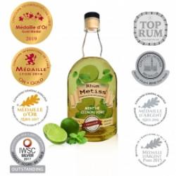 Arrangé Métiss Menthe Citron vert 70cl 25%